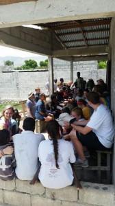 Visiting Pastor Noel's Orphanage