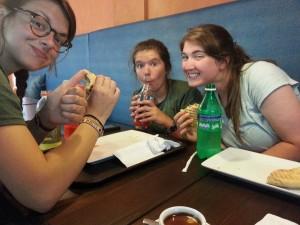 Lunch at Rebo!